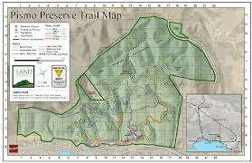 Pismo Beach Map Ocean View Lato Trail Information Learning Among The Oaks