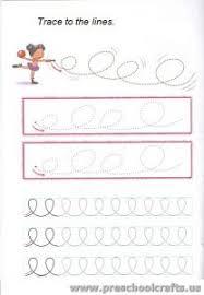 line tracing worksheets preschool preschool and kindergarten