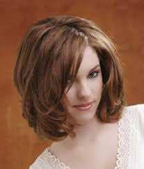 medium shaggy hairstyle for thick hair sweet girls with shoulder