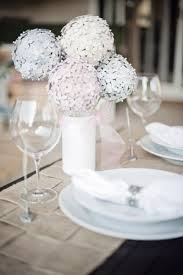 Hydrangea Centerpiece Diy Hydrangea Centerpiece Made From Paint Chips Fab You Bliss