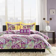 Purple And Gray Comforter Purple Comforter Sets Purple Bedroom Ideas