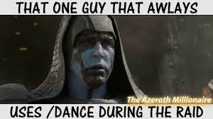 World Of Warcraft Memes - dancing in raids world of warcraft meme youtube