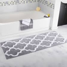 Grey And White Bathroom by Grey And White Bathroom Rugs Home Decorating Interior Design