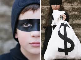Halloween Burglar Costume Candy Bandits Disguise Seejaneblog Halloween Costumes
