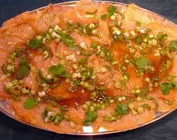 cuisine saumon saumon mariné façon thaï la recette facile par toqués 2 cuisine