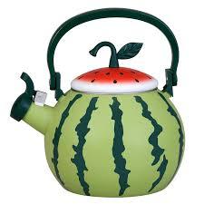 amazon tea amazon com watermelon whistling tea kettle kitchen u0026 dining