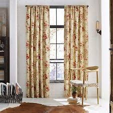 Floral Lined Curtains Country Floral Lined Curtains Ebay
