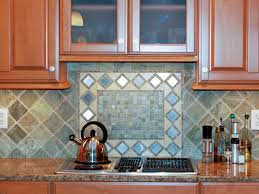 Backsplash Maple Cabinets Kitchen Tumbled Marble Backsplashes Pictures Ideas From Hgtv