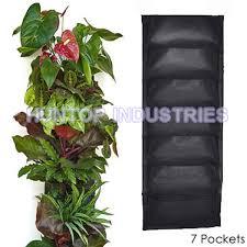 pocket hanging vertical garden wall planter vertical garden pots