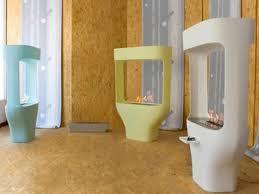 modern free standing gas fireplace home design inspirations