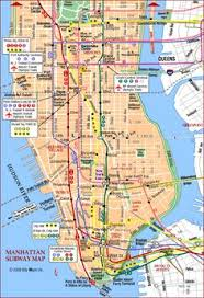 map of manhattan map manhattan nyc travel maps and major tourist attractions maps