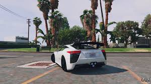 custom lexus lfa lexus lfa 2012 for gta 5