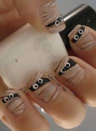 awesome halloween nail art designs design fimo and brushes