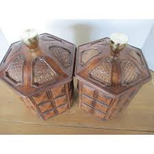 vintage ceramic kitchen canisters set of 4 chairish