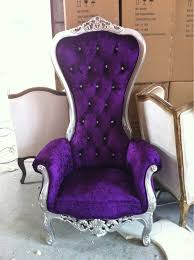 Purple Armchair Purple Princess Chair Decor Inspiration Office Pinterest