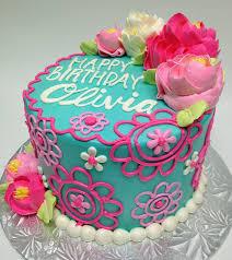 White Flower Cake Shoppe - the olivia buttercream birthday cake tea party pinterest