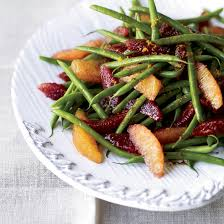 green bean and blood orange salad green beans beans and salad