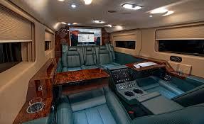 Ford Van Interior Becker Automotive Design Luxury Transport Coaches Sprinter