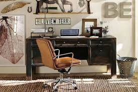 Pottery Barn Office 12 Industrial Desks You U0027ll Want For Your Home Office