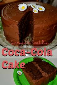 chocolate coca cola cake sisterhood of the sensible moms