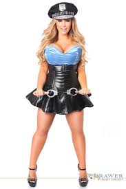 Halloween Costumes Adults Drawer Size Premium Corset Costume