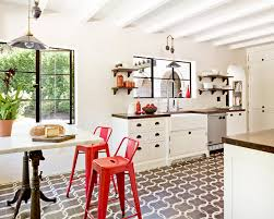 patterned tiles on kitchen floors desire to inspire