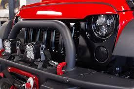 jeep wrangler custom lights 7 ce 80w certificate headlight for jeep wrangler jk tj n2 race auto