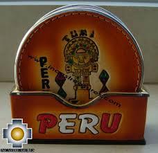 Beverage Coasters Leather Beverage Coasters Peru Free Shipping Worldwide