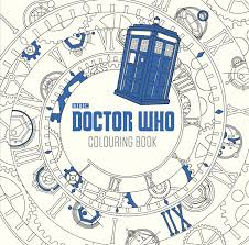 amazon com dr who the colouring book doctor who