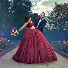 wedding dress maroon burgundy gown wedding dresses sweetheart lace