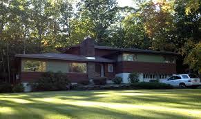 mid century modern exterior remodel cozy home design