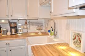 wainscoting backsplash kitchen easily wainscoting backsplash inexpensive beadboard paneling