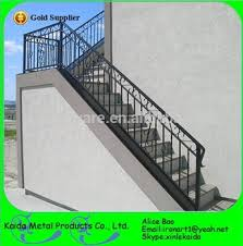 modern outdoor used wrought iron stair railing buy used wrought