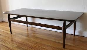 mid century modern sofa table mid century modern coffee table picked vintage