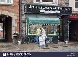 butcher uk traditional stock photos butcher uk traditional stock johnson s butcher thirsk yorkshire england uk stock image