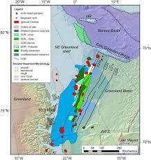 Greenland Map Seismic Volcanostratigraphy Of The Ne Greenland Continental Margin