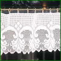 Crochet Curtain Designs Hass Design Crochet Bistro Curtain Patterns In Filet Crochet