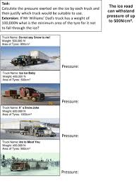 forces pressure by classroomhelper teaching resources tes