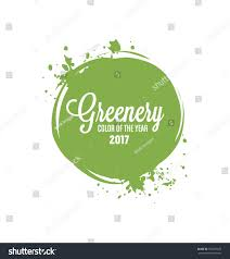 color of year 2017 greenery trendy fashion color year 2017 stock vector 552357679