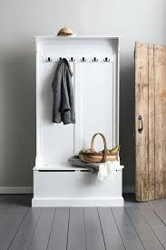coat rack with storage shelves plus white wooden coat rack with