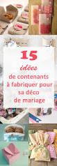 Decoration De Mariage A Faire Soi Meme by 15 Sachets Ou Contenants Diy à Fabriquer Pour Son Mariage