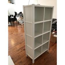Cubic Bookcase Land Of Nod Cubic Tall Bookcase 8 Cube Aptdeco
