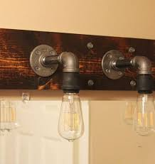 industrial bathroom light fixtures diy industrial bathroom light fixtures bathroom light fixtures