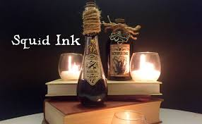 squid ink diy potion bottle halloween prop harry potter
