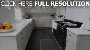 home and decor flooring kitchen floor tile ideas design white cabinets with black