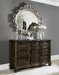 Jessica Mcclintock Dining Room Furniture American Drew Jessica Mcclintock Silver Veil Oval Mirror Beyond