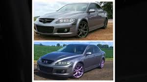 mazda car emblem mazda speed 6 purple ghost chameleon rims and emblems done with