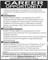 jobs in real estate company published in dawn newspaper on 21 june