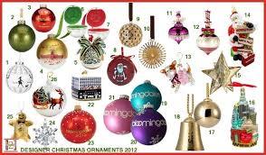 designer tree ornaments gorgeous designer