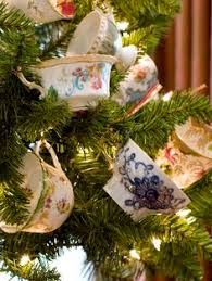 christmas tea party favors christmas tea bookmarks tea cup tags tea party favors tea gift